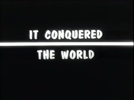 Image result for it conquered the world title screen