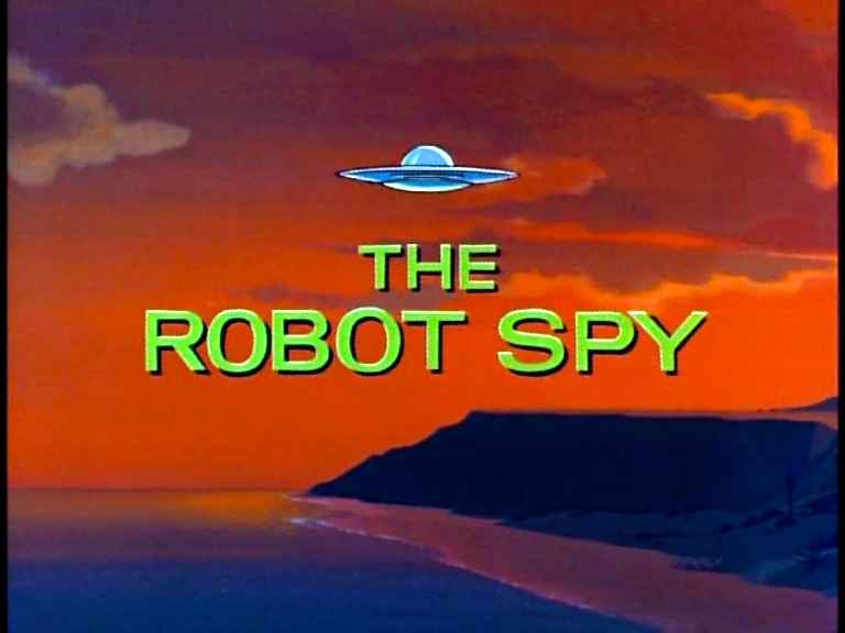 the robot spy  jonny quest