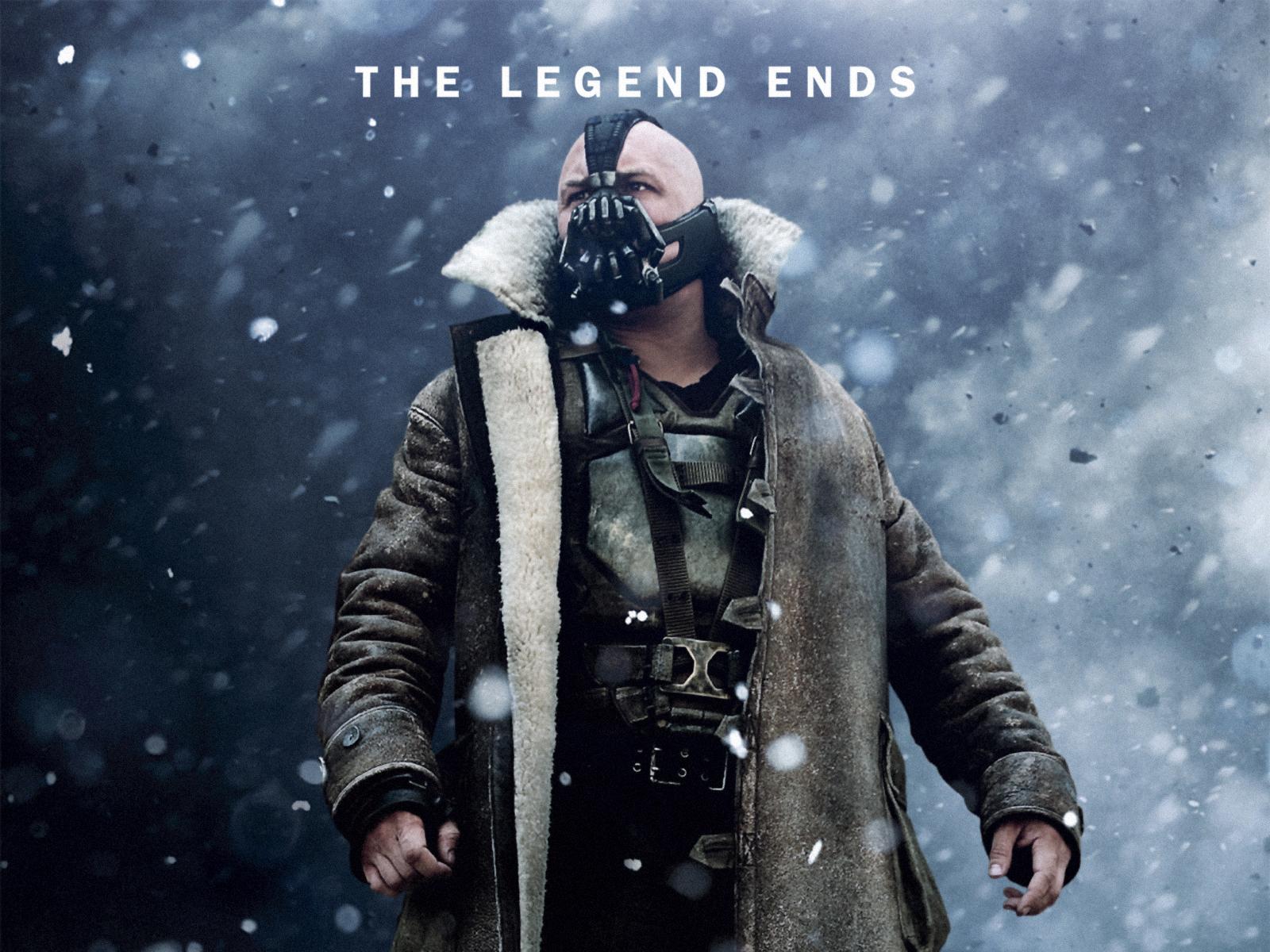 The Dark Knight Rises 2012 Tom Hardy As Bane