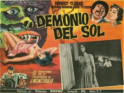 Sun Demon Lobby Card_Mexican
