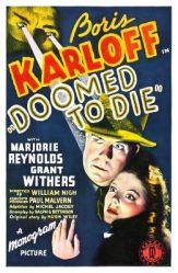 Karloff_Doomed to Die_Full Sheet