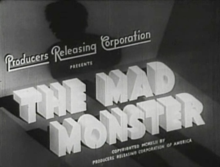 The Mad Monster_Titles