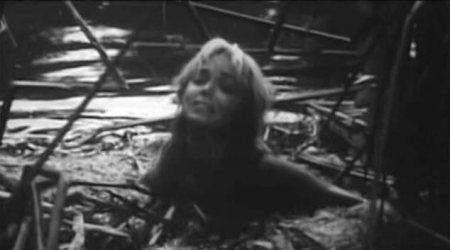Yvette in a swamp