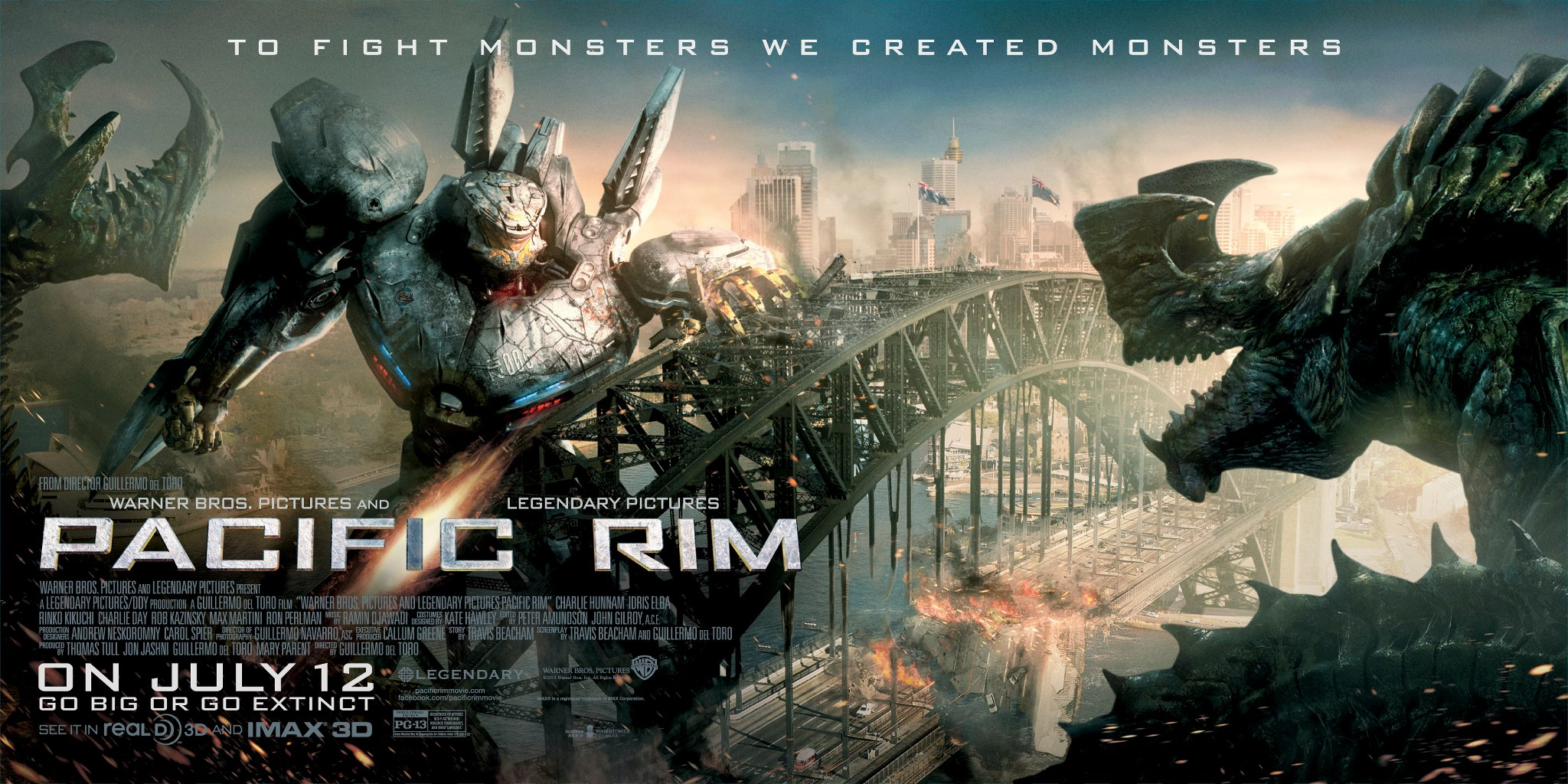 pacific-rim-movie-banner-striker-eureka-jaeger-vs-kaiju ... Pacific Rim Cast