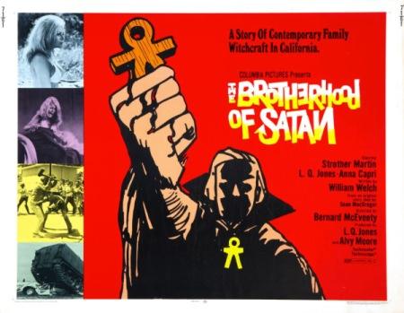 The Brotherhood of Satan UK Sheet