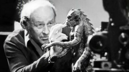 Harryhausen touching up the Kraken