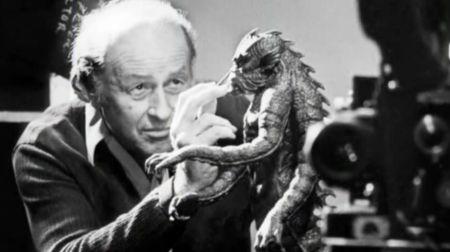 Harryhausen touching up the Kraken