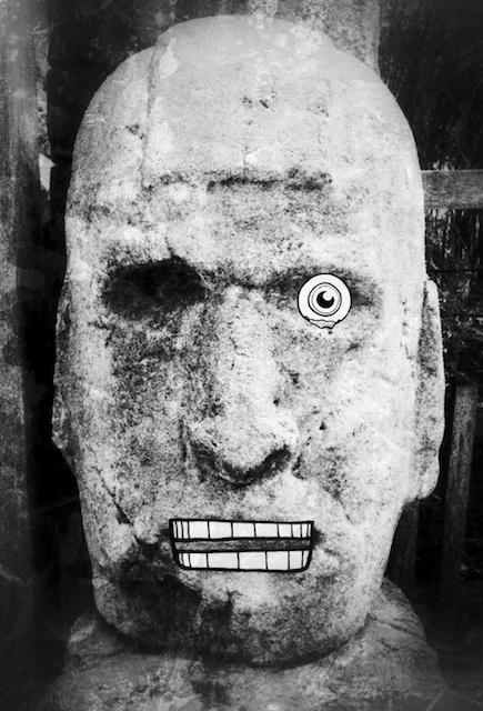 Toltec Head