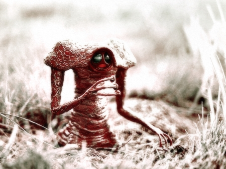 War of the Worlds Martian Encounter