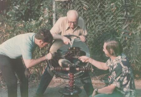 Richard Aurandt_Ken Strickfadden_Bill Wysock, 1975_Nebularium