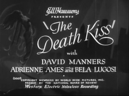 The Death Kiss_Titles