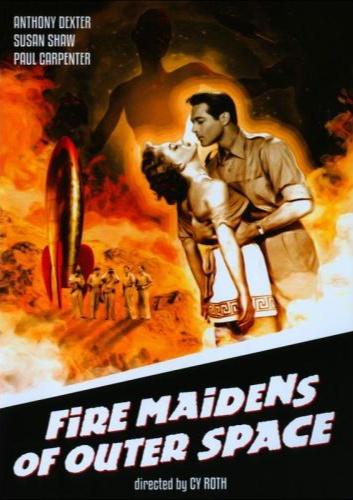 Fire Maidens DVD