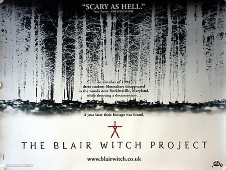 The Blair witch project film poster_UK