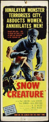 The Snow Creature_Insert
