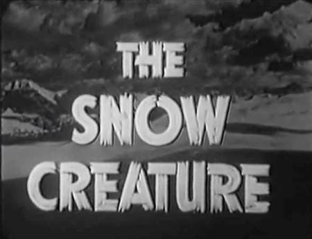 The Snow Creature_Titles