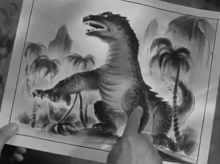 Rhedosaurus Art