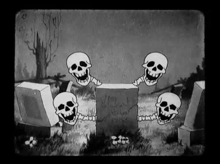 Skeleton Dance_4 Skulls