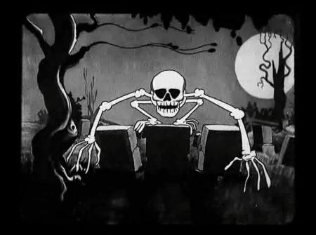 Skeleton Dance_Jumping Skeleton
