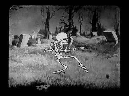 Skeleton Dance_Prancing Skeleton