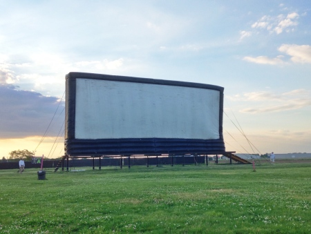 Danny Boy Drive-In Screen