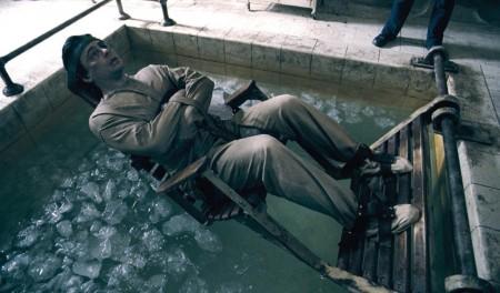 Icebath for Wolfie