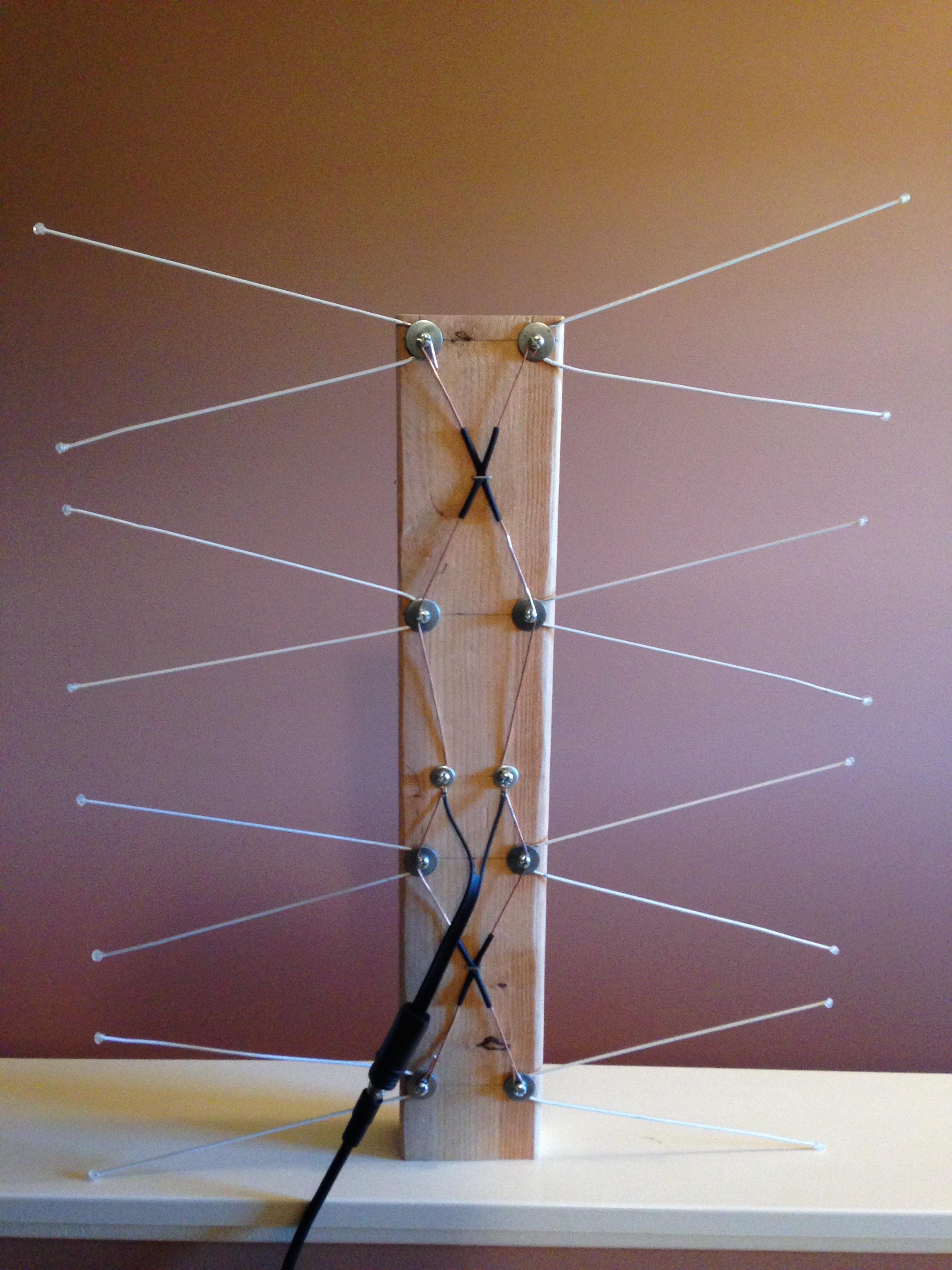 Hdtv Antenna Diy Coat Hanger | Crafting