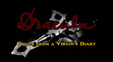 Dracula, Pages from a Virgins Diary_Titles