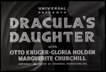 Dracula's Daughter_Titles