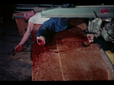 Blood Freak_Table Saw Death