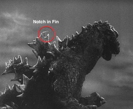 Gyakushu_Godzilla Suit 1955