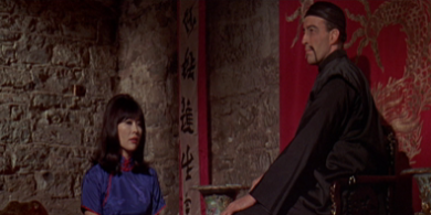The evil Lin Tang and Fu Manchu