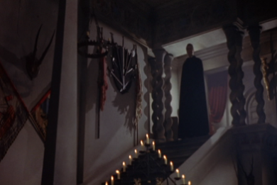 Lee's First Appearance as Dracula