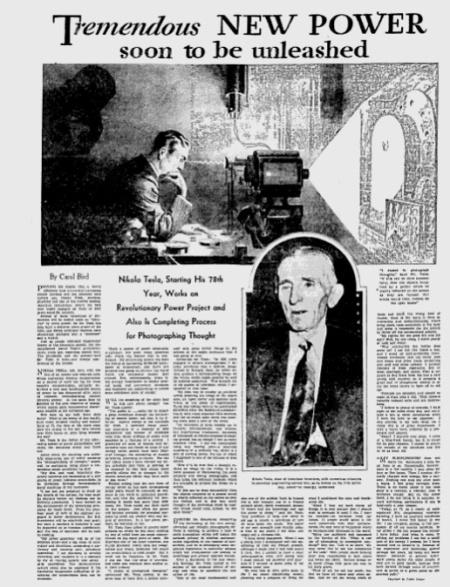 Tesla_1933_Bird Article_Thoughts