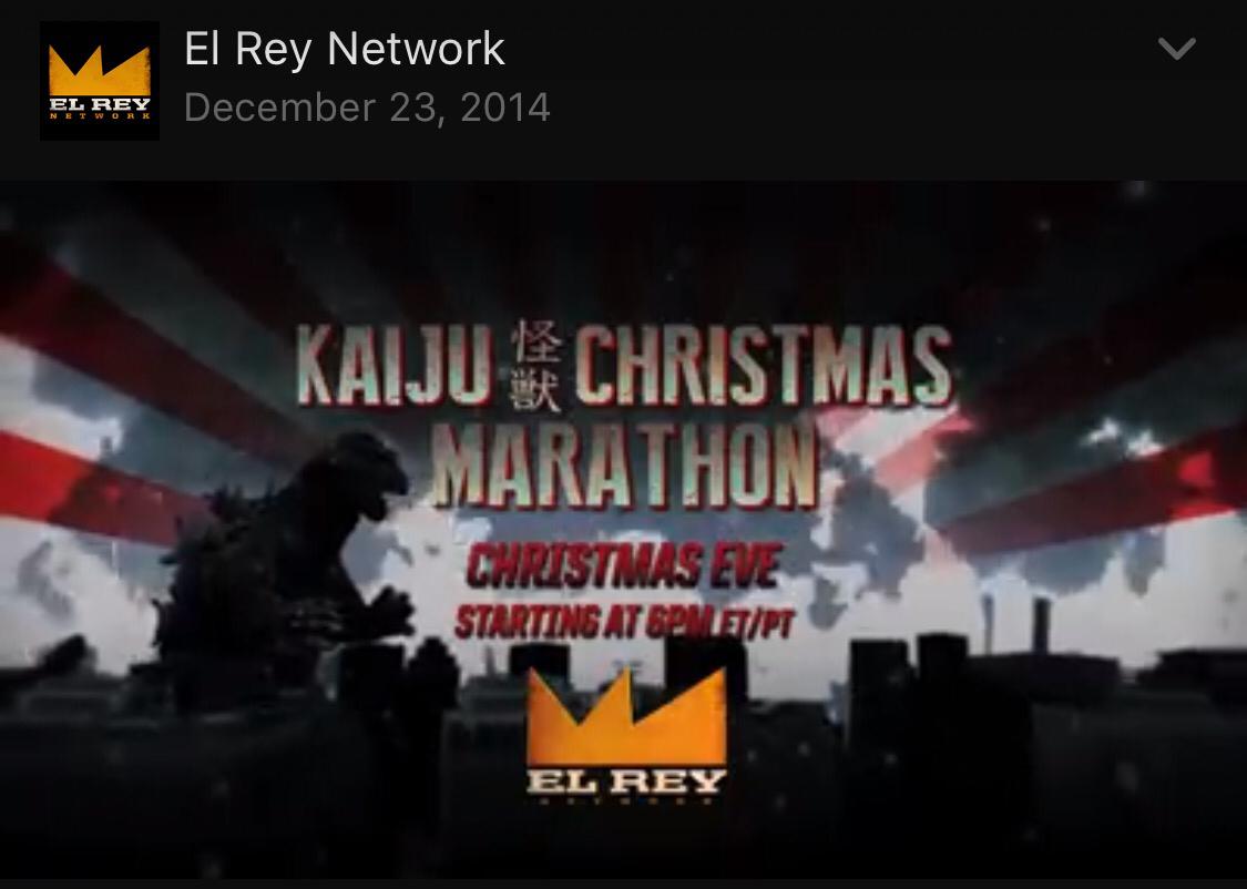 Godzilla Christmas Marathon 2020 Godzilla Marathon | monsterminions